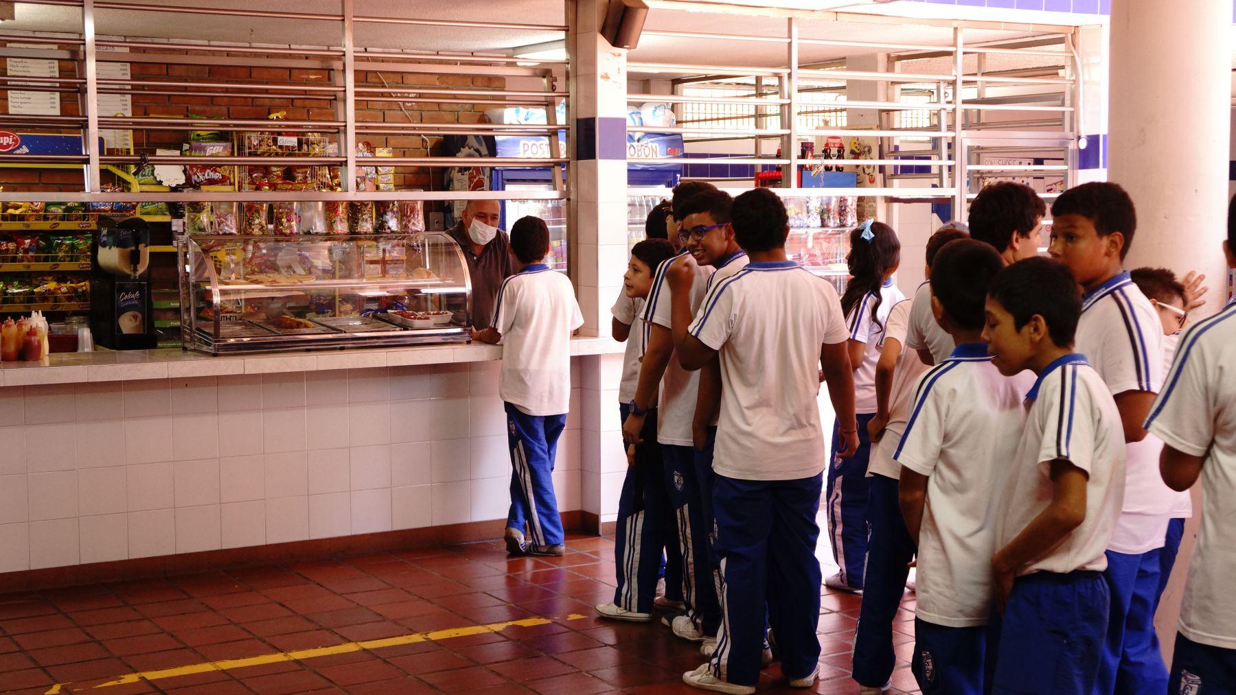 App gratuita para reducir colas en tu cafeter a for Cafeteria escolar proyecto