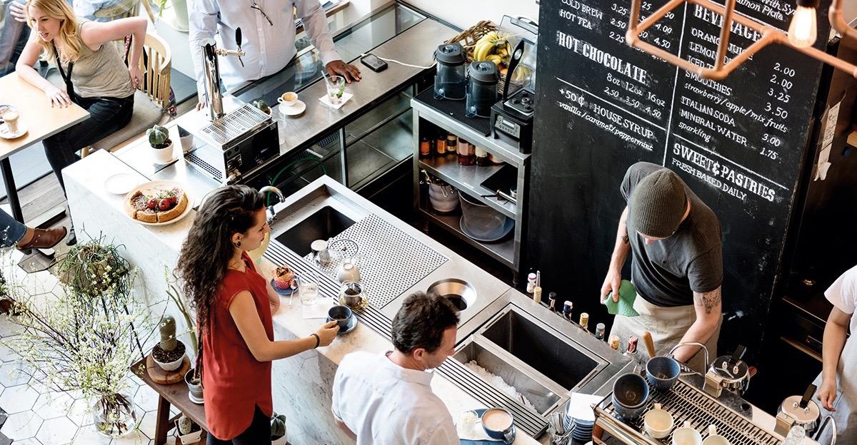 ¿Cómo iniciar un negocio de cafetería?