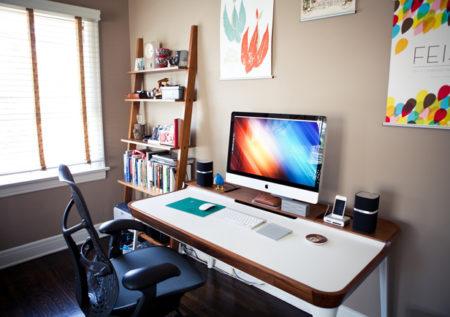 ¿Cómo decorar la oficina en un espacio de tu casa?
