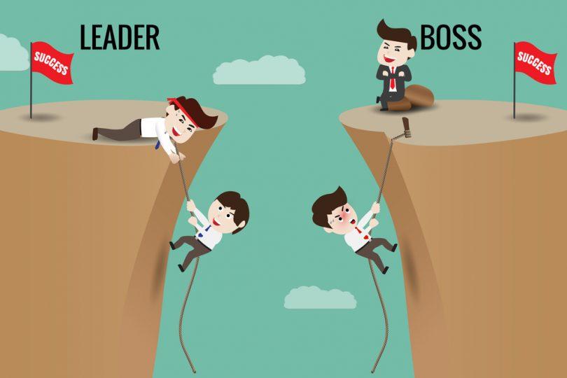 ¿Sabes en qué se diferencia un líder de un jefe?