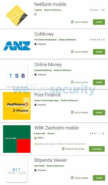 Detectan Apps engañosas de bancos en Google Play