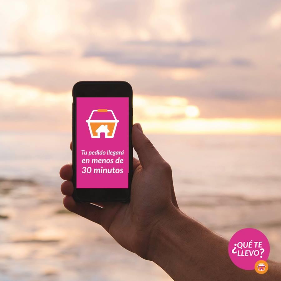 Supermercado virtual hace delivery en tiempo récord