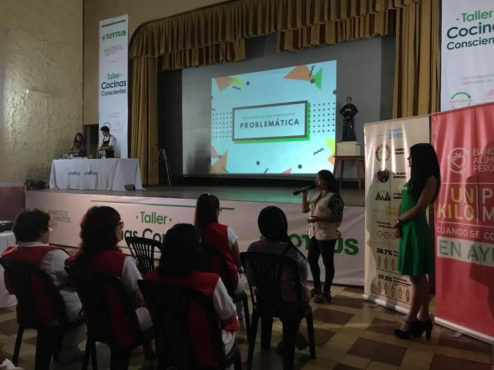 Emprendimiento busca erradicar la desnutrición
