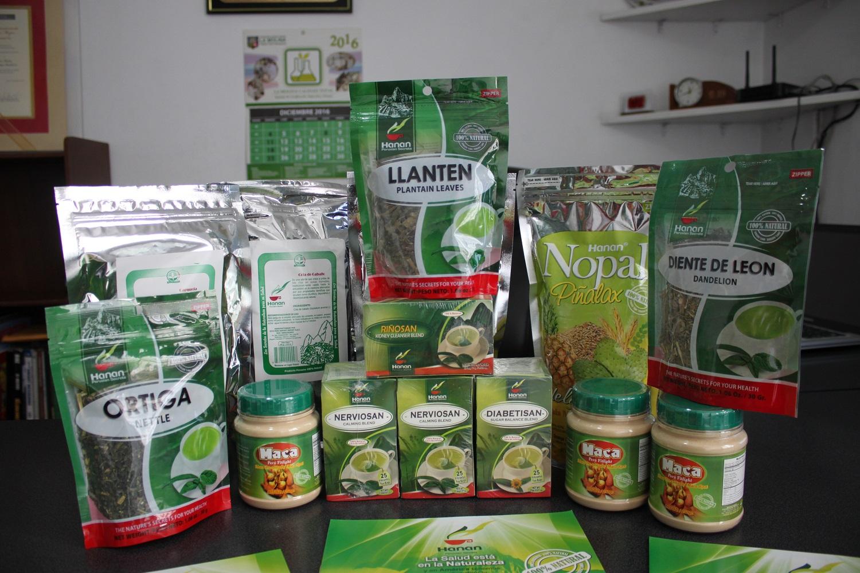 Crean productos naturales de exportación