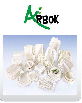 ¿Quiénes producen envases de sustitutos del plástico?