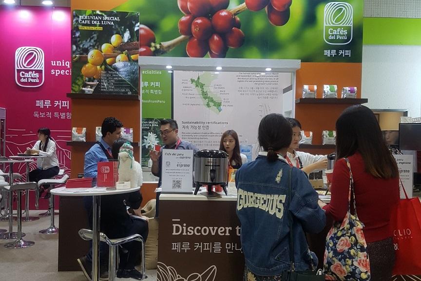 Marca Cafés del Perú ingresó con éxito al Asia