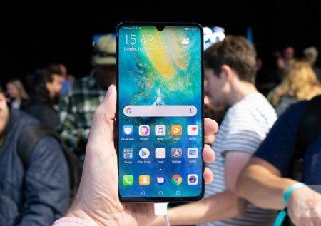 Huawei alista celular plegable con tecnología 5G