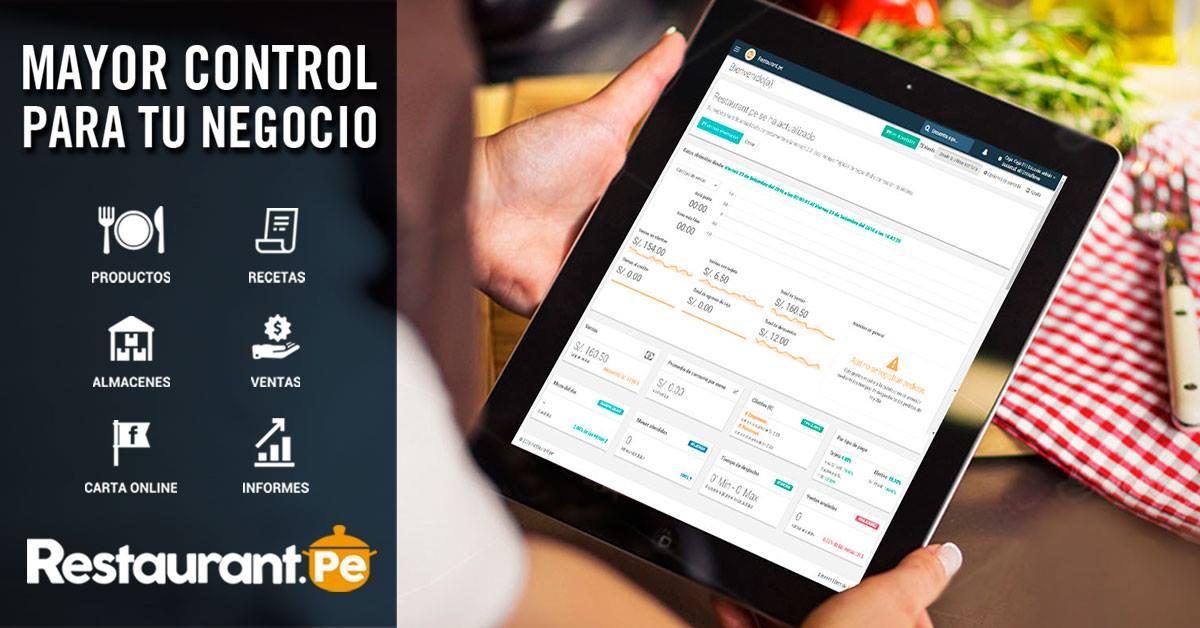 Conoce plataforma para procesos de restaurantes