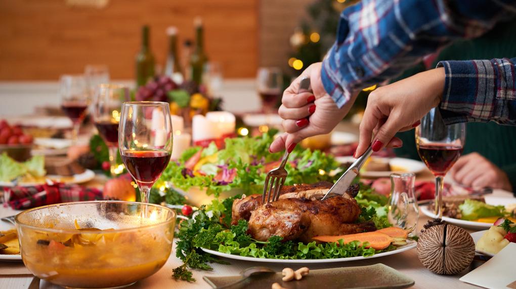 Cena navideña: Alternativas con bajas calorías