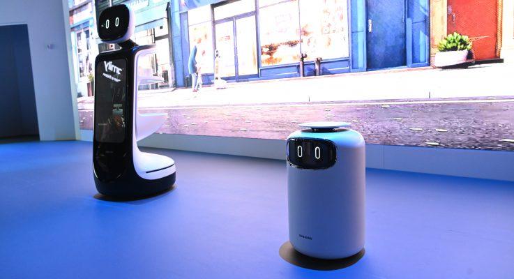 Conoce robots para tareas del hogar y negocios