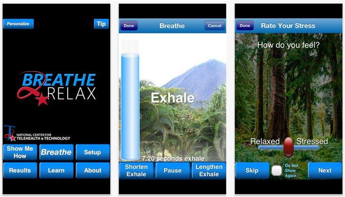 Conoce 6 Apps que te ayudarán a reducir el estrés