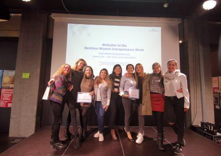 Startups lideradas por mujeres peruanas destacan en Suiza