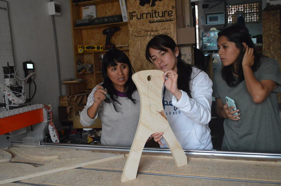 Innovación: Emprendedora crea plataforma de carpintería digital