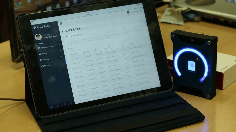 Startup usa huella digital en seguridad