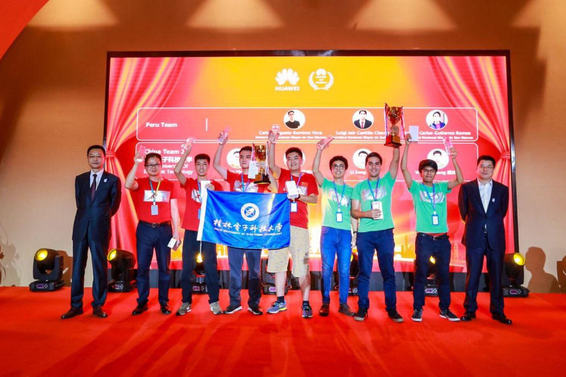 Inteligencia Artificial: UNMSM gana en China