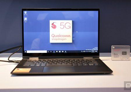 Lenovo lanza laptop con conectividad 5G