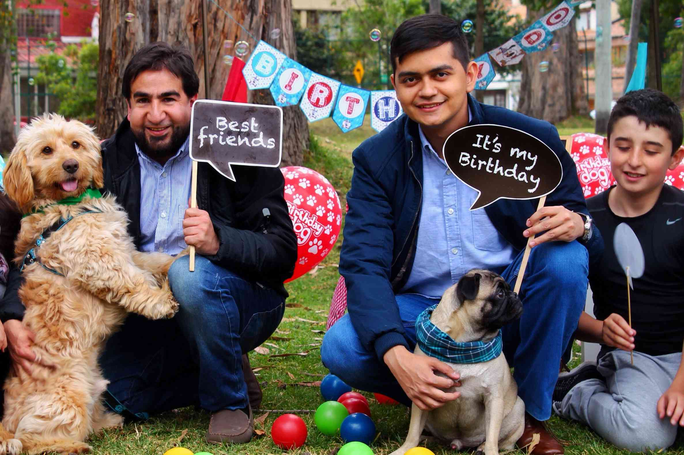 Negocio: Servicio de fiestas para mascotas