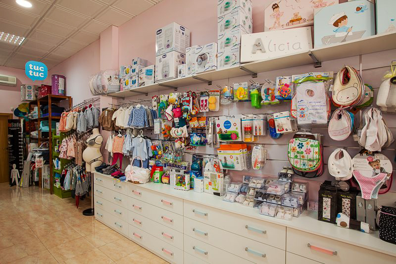 Negocio: Tienda de artículos para bebés