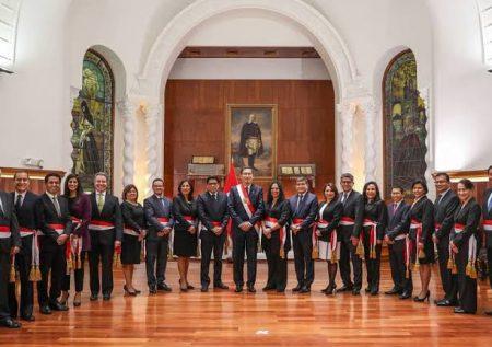 Conoce al nuevo gabinete ministerial