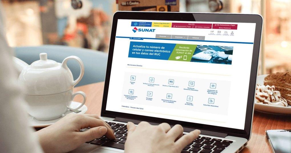 SUNAT: Web facilitará Declaración Jurada