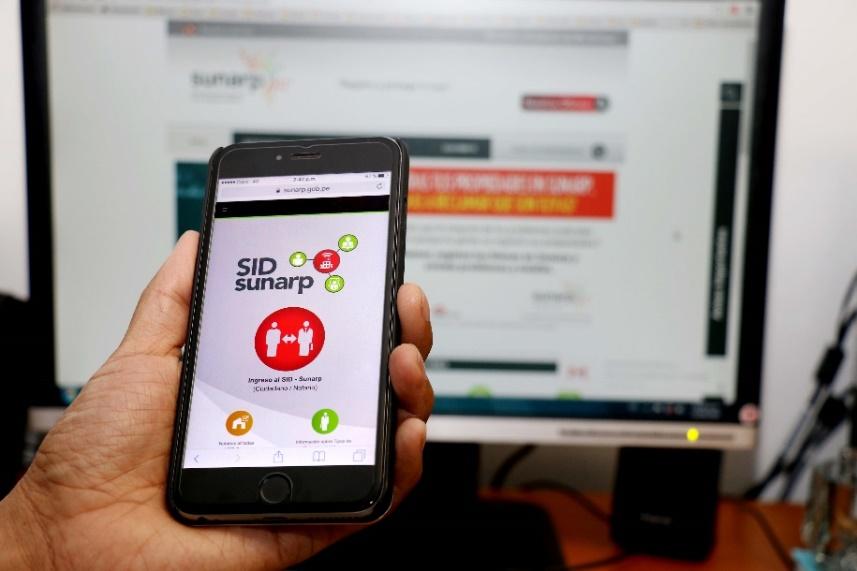 Sunarp reinicia inscripción registral online