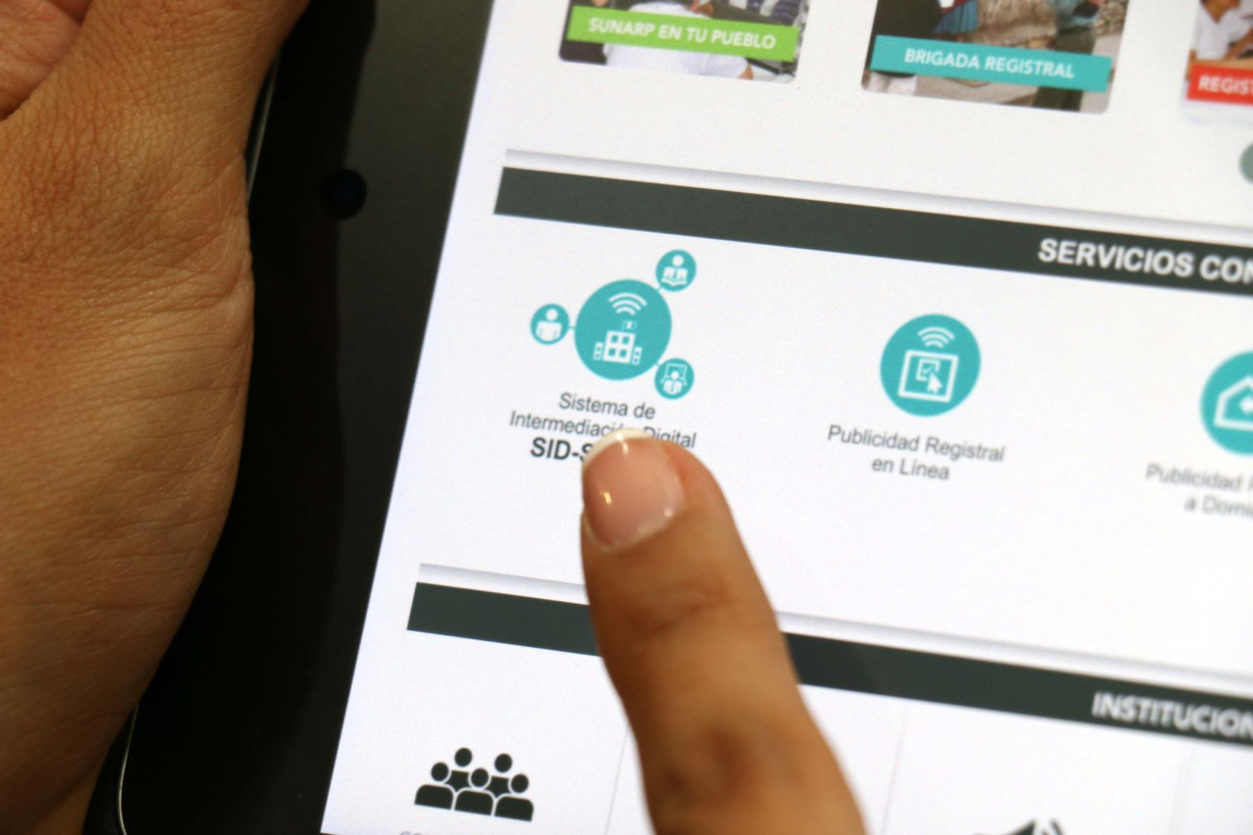 Sunarp aprueba más trámites registrales online