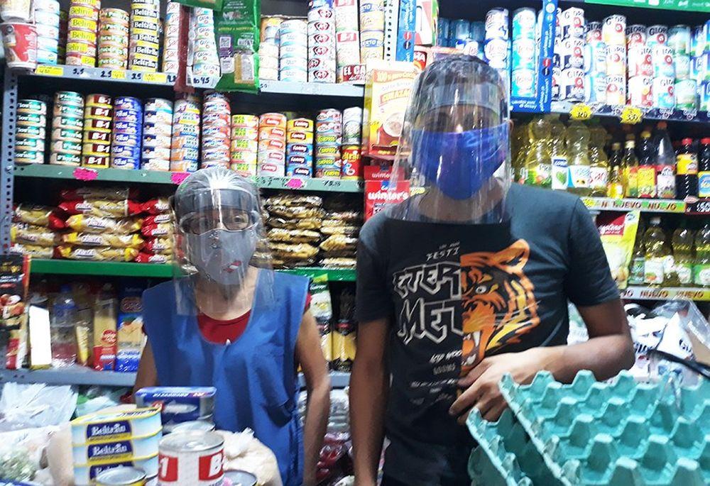 Elaboran protectores con material reciclable