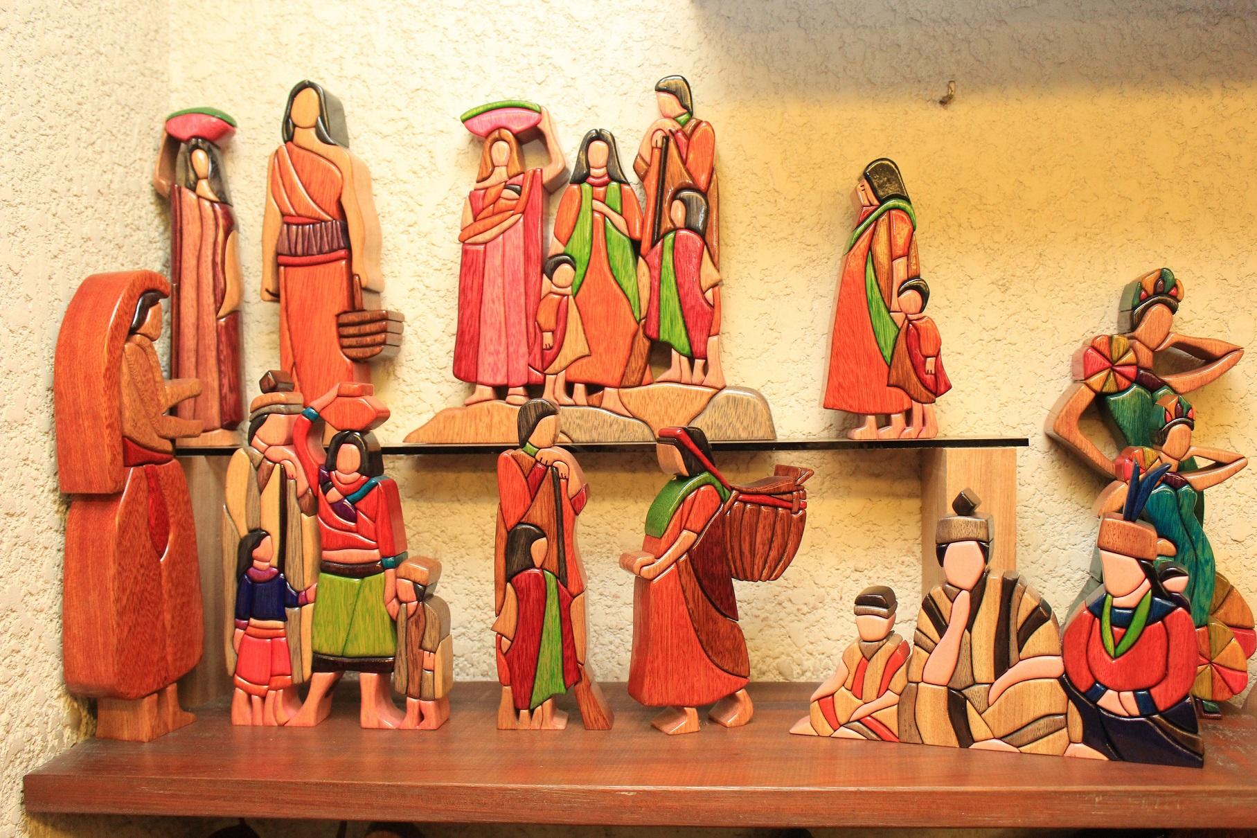 COVID-19: Cae exportación de artesanía