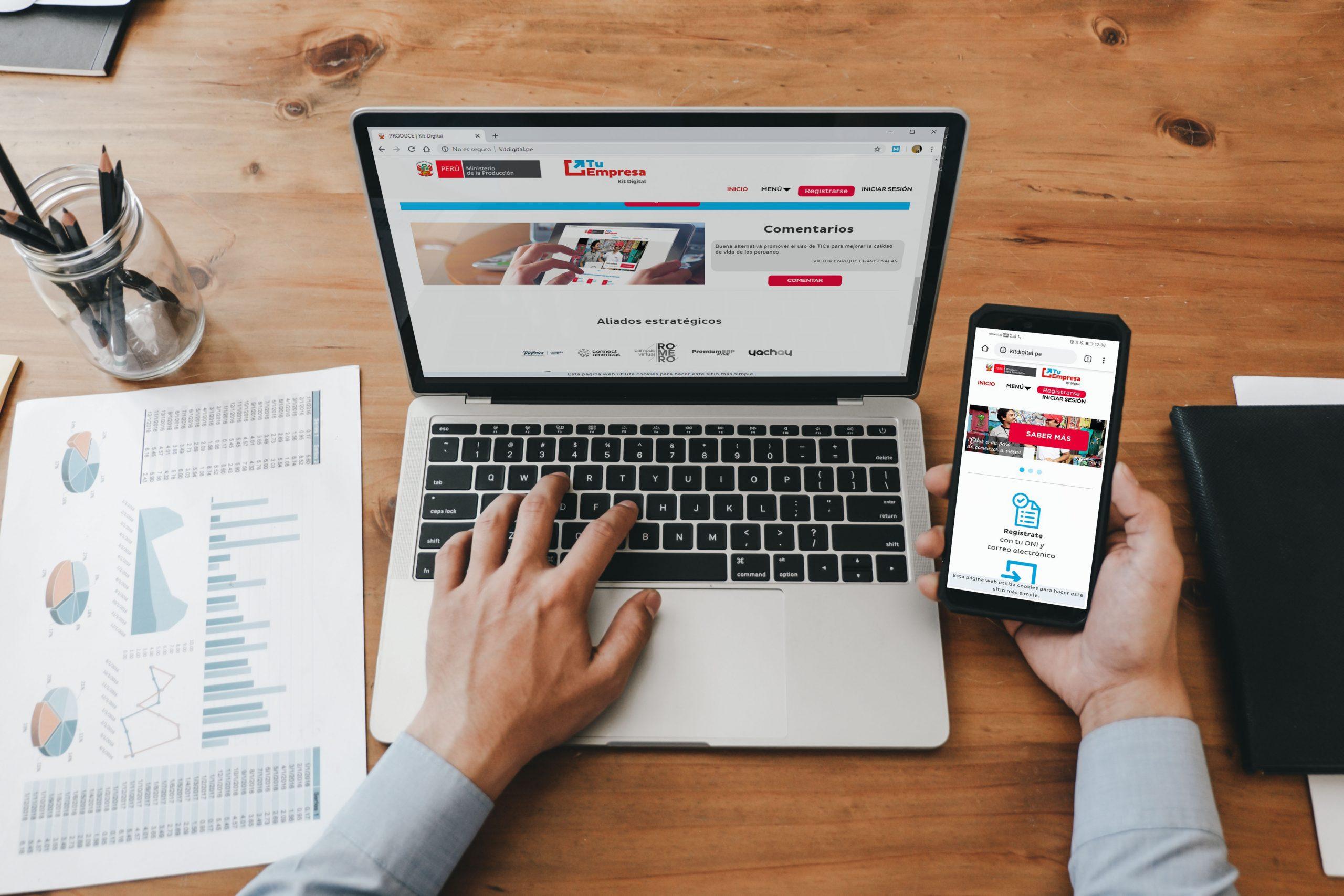 Ventas de mypes crecerían 60% con e-commerce
