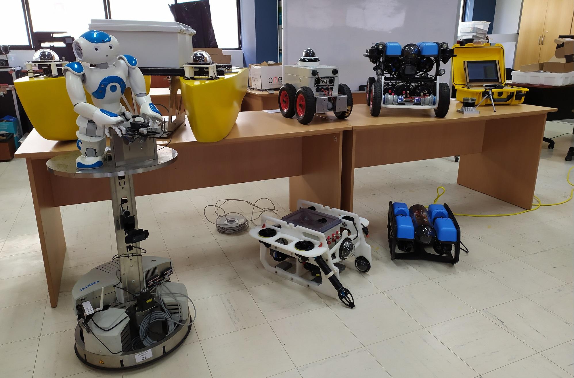 Startup ofrece servicios con robots a la minería