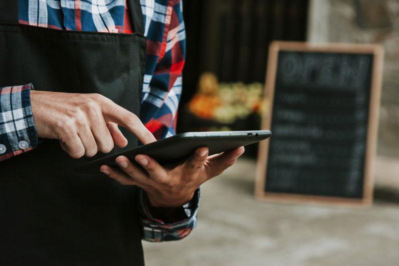 Plataforma para restaurantes a bajo costo