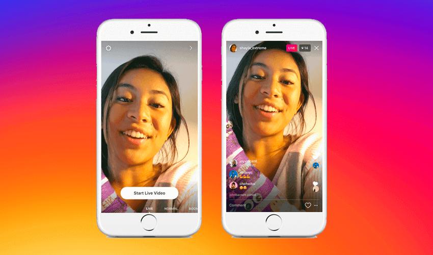 Instagram Live conecta tu marca con clientes