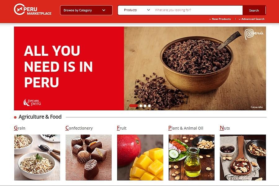 Lanzan plataforma Peru Marketplace