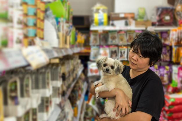 Negocio: Venta de artículos para mascotas