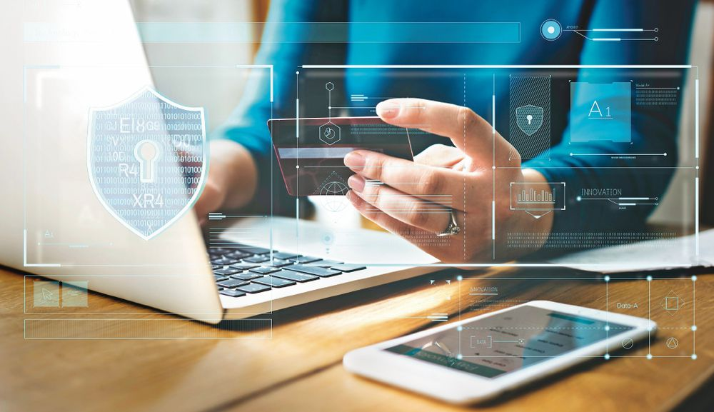 4 Mensajes de una estafa online