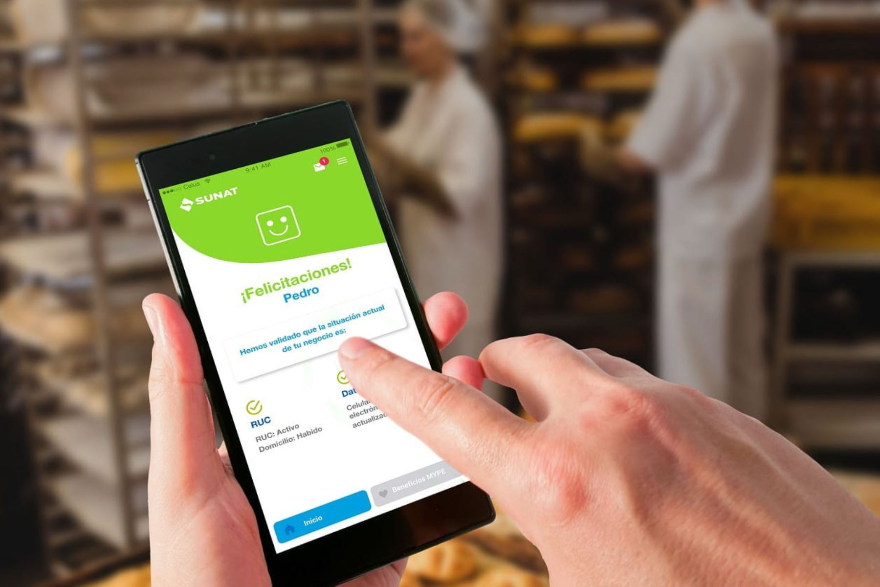 Emite facturas desde tu smartphone