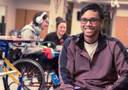 Plataforma para personas con discapacidad