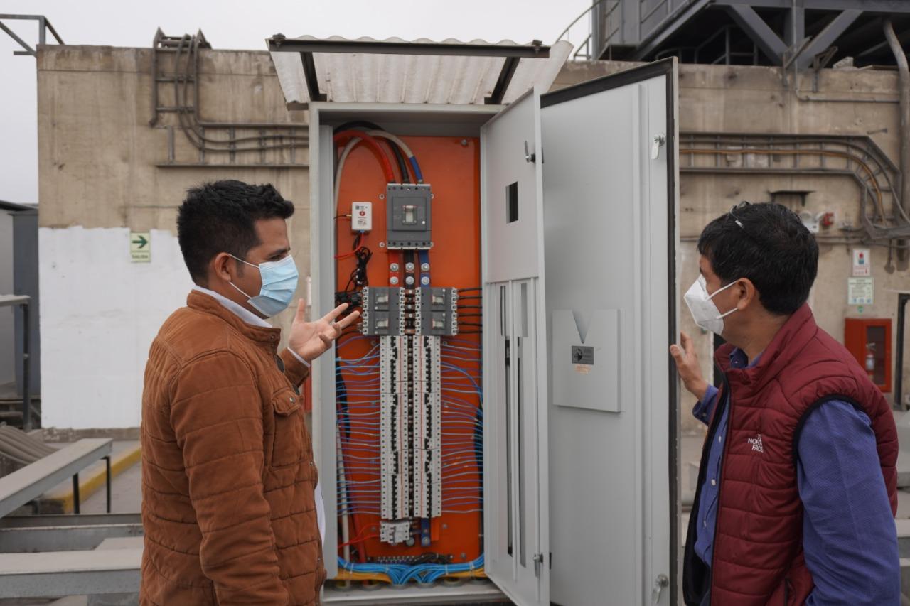 IoT para monitorear red eléctrica