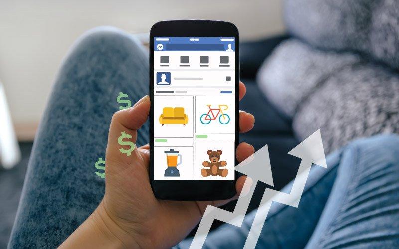 Vende más con Facebook Marketplace