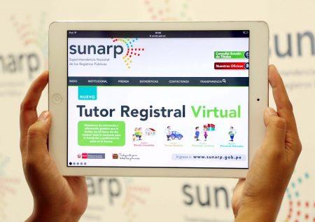 ¿Qué trámites online ofrece SUNARP?