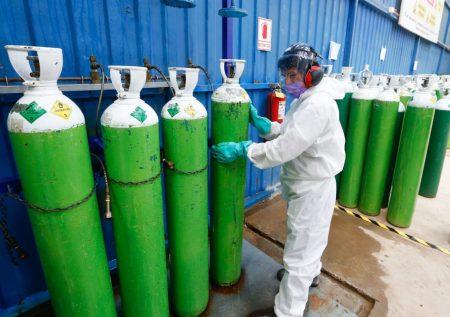 Registro para mitigar el déficit de oxígeno
