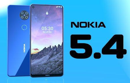 Conoce el smartphone de Nokia 5.4